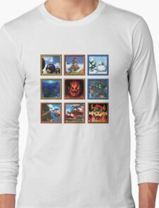 Super Mario 64 Paintings Long Sleeve T-Shirt
