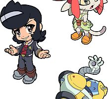 Space Dandy Sticker Sheet  Collection by 57MEDIA