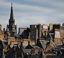 Edinburgh Old Town by Jan Cervinka
