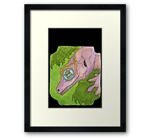 Look Within For Refuge Framed Print