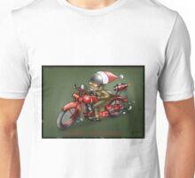CHRISTMAS MOTORCYCLE STEAMPUNK  Unisex T-Shirt