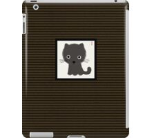 Grey Kitty iPad Case/Skin
