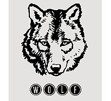 Wolf. Photographic Print