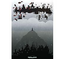 Bioshock Infinite: Rapture & Columbia Photographic Print