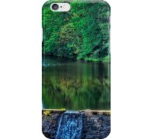 Waterfall at Minas Basin Pulp and Power Co   iPhone Case/Skin