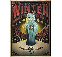 Bioshock infinite: OldMan Winter vigor Photographic Print