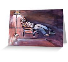 Sweet dreams ( from my original acrylic painting digitally enhanced) Greeting Card