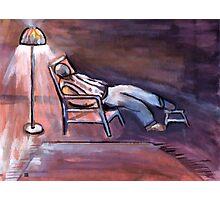 Sweet dreams ( from my original acrylic painting digitally enhanced) Photographic Print