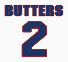 National Hockey player Bill Butters jersey 2 by imsport