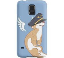 Otter on the Flight Deck Samsung Galaxy Case/Skin