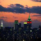 New York City Christmas by Alberto  DeJesus