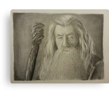 Gandalf the Gray Canvas Print