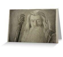 Gandalf the Gray Greeting Card