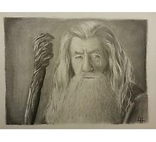 Gandalf the Gray Photographic Print