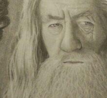 Gandalf the Gray Sticker