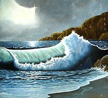 Vibrant Wave by Shree