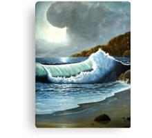 Vibrant Wave Canvas Print