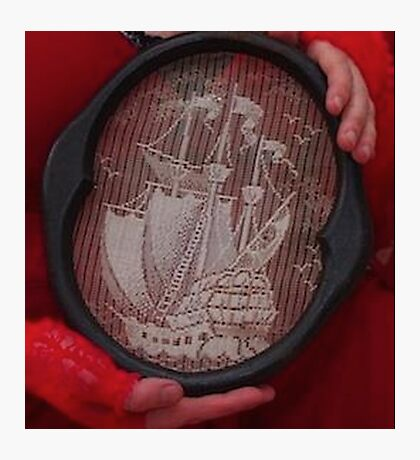 Tall ship needle point  Photographic Print