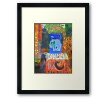 city #10 Framed Print