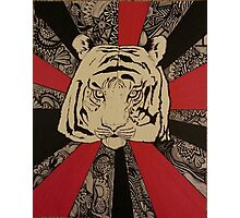 Japanese Tiger Photographic Print