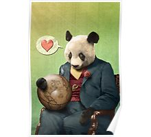 Wise Panda: Love Makes the World Go Around! Poster