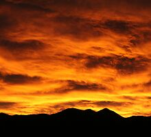 Beautiful Sunset in the Rockies  by JamesMichael