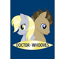 Doctor Whooves & Companion Photographic Print