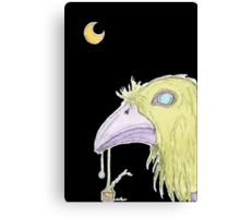 When The Green Crow Brings You Dreams of Shelter Canvas Print