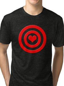 Aim For The Heart Tri-blend T-Shirt