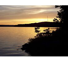 Sunset at Portage Photographic Print