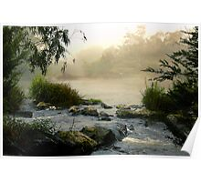 Yarra River, Warrandyte. Poster