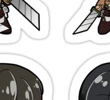 Attack on Titan - Sticker Sheet Collection Sticker