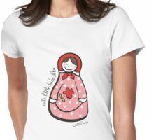 Cute Little Babushka 2 Womens Fitted T-Shirt