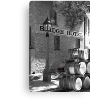 Bridge Hotel Canvas Print