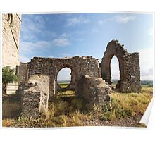 Ruined Church in Somerset Poster