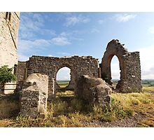 Ruined Church in Somerset Photographic Print