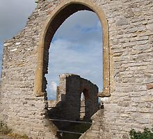 Ruined church in somerset - 1 by kalaryder