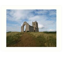 Ruined Church in Somerset - 4 Art Print