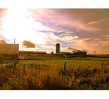 Afternoon On the Farm Photographic Print