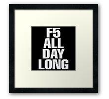 F5 Framed Print