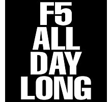 F5 Photographic Print