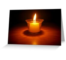 Candle Greeting Card