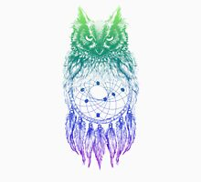 Dreamy Owl_Multi Blue Unisex T-Shirt
