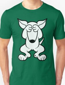 English Bull Terrier Hide  T-Shirt