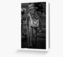 Grumpy Old Lady Greeting Card