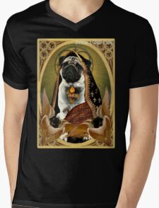 holy fawn Mens V-Neck T-Shirt