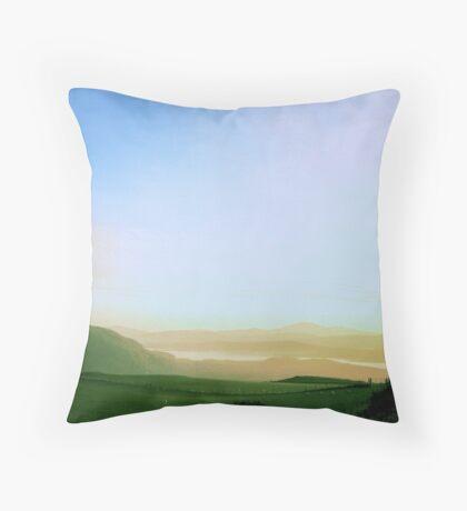 Raghtin Mor, Inishowen, Donegal Throw Pillow