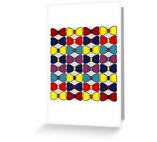 Bow ties  Greeting Card