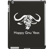 Happy Gnu Year iPad Case/Skin