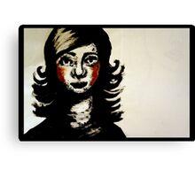 la petite femme Canvas Print